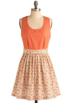 I love this dress! It's sweet looking and the color to me is gorgeous! Plus its cotton, only $50 and from www.modcloth.com