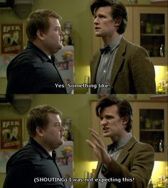 This scene is soo funny- the doctor is pretty clueless when it comes to romance