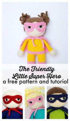 Mesmerizing Crochet an Amigurumi Rabbit Ideas. Lovely Crochet an Amigurumi Rabbit Ideas. Crochet Amigurumi Free Patterns, Crochet Doll Pattern, Crochet Dolls, Crochet For Beginners, Beginner Crochet, Cute Crochet, Crochet Geek, Easy Crochet, Amigurumi Doll