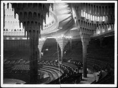 Gran Auditorio (1918-9) Hans Poelzig