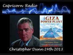 Giza Power Plant - Chris Dunn on  Capricorn Radio Jan 24/2013
