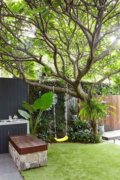 Small Backyard Ideas - Even if your backyard is small it likewise can be extremely comfy and also welcoming. Having a small backyard does not mean your backyard landscape design . Small Backyard Gardens, Backyard Garden Design, Small Backyard Landscaping, Small Garden Design, Modern Landscaping, Backyard Ideas, Landscaping Ideas, Backyard Bbq, Indoor Garden
