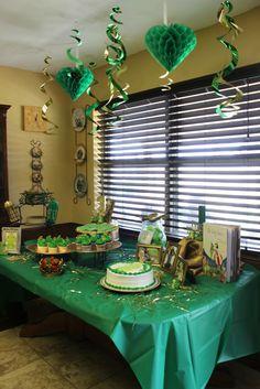 Landon's frog prince party