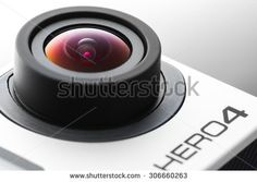Varna, Bulgaria - May 28, 2015: GoPro Hero 4 Black Edition isolated on white background.manufactured by GoPro Inc