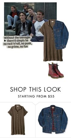 """i don't give a damn bout my bad reputation"" by maddygoodwin ❤ liked on Polyvore featuring Toast, Wrangler, Dr. Martens, Young & Reckless, women's clothing, women's fashion, women, female, woman and misses"