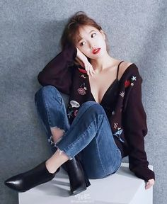 Suzy x Guess Bae Suzy, Korean Beauty, Asian Beauty, Asian Woman, Asian Girl, Miss A Suzy, Korean Celebrities, Celebs, Korean Model