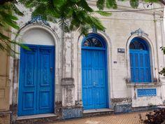Fachada antigua.Asunción-Paraguay