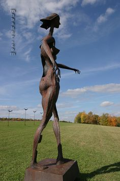 Griffis Sculpture Park-Ashford Hollow, NY Beautiful park to hike, walk paths or picnic.