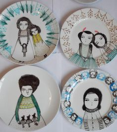 New plates by Melodie Stacey