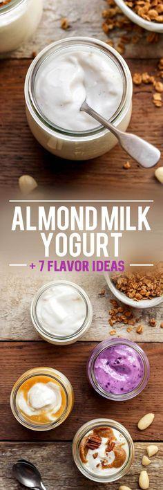 The Best Vegan Almond Milk Yogurt