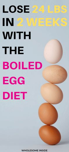 The Boiled Egg Diet: How to lose 20 pounds in 2 weeks. - Wholesome Inside The hard boiled egg diet for weight loss. This diet will guarantee that you will lose weight fast! An ideal short term diet for quick weight loss resu. Diets Plans To Lose Weight, Diet Food To Lose Weight, How To Lose Weight Fast, Losing Weight, Weight Gain, Healthy Weight, Foods To Loose Weight, Lose Fat, Body Weight