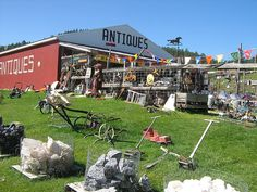 Boyd's Antiques ~ outside of Custer, South Dakota