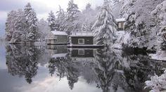 Early winter, Lake Muskoka, ON