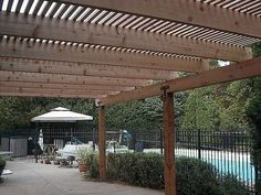 How to Build a Shade Pergola or Arbor thumbnail