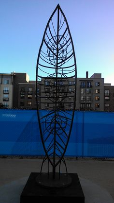 Metallic, Leaf, Outline. #urban #solelydescriptive