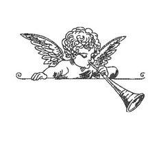 Cherub Tattoo, Medusa Tattoo, Embroidery Ideas, Designs To Draw, Cross Stitch Embroidery, Line Art, Art Boards, Vintage Christmas, Print Patterns