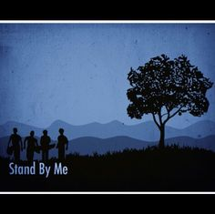 Stand by me Remix by on SoundCloud River Phoenix, Alternative Movie Posters, Great Films, Stand By Me, All About Time, Fan Art, Fun Stuff, Stage, Movies