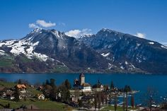 Interlaken, Switzerland.  I can still hear the cow bells tinkling across a mountain meadow...ah...the sound of music