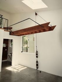 Innenraum - Treppe 28 Trending Garage Stairs Ideas On A Budget - Hobbies and Interests Your Mattress Loft Staircase, Attic Stairs, Staircase Design, Stairs For Loft, Mezzanine Loft, Garage Stairs, Tiny House Stairs, Garage Lift, Garage Storage
