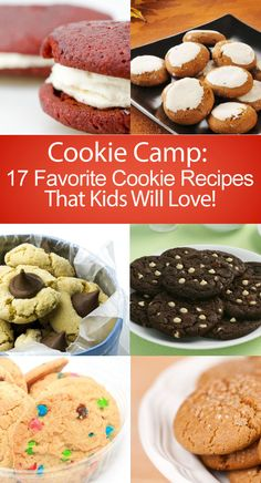 Cookie Camp: 17 Favorite Cookie Recipes That Kids Will Love