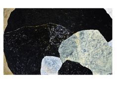 Kornog 8 - huile sur toile 75 x 120 cm - Marie Boiseaubert