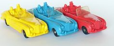 Tomte Laerdal Company, Vinyl toy cars
