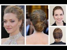 Amanda Seyfried's Oscars Hair Tutorial - #TrendyLime #OscarsTheme #HolidayEvent