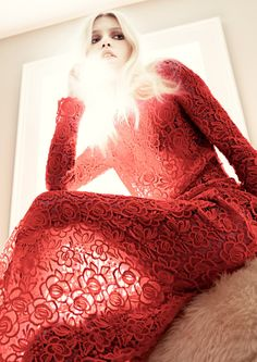 Lace | Aline Weber by Tom Munro for Muse Fall 2011