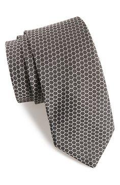 Men's Ted Baker London Hexagon Silk Tie