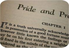 Pride & Prejudice ... chapter one