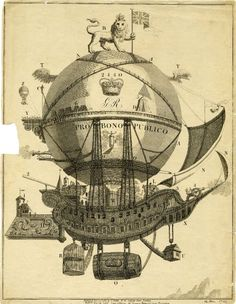 The grand British balloon. 1784