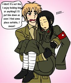 APH: Romantic(?) Tsundere by thingy-me-jellyfis on DeviantArt