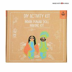 Punjabi Doll Making Kit – Educational Arts & Crafts for Kids Activity Kit Get creative and learn to make dolls dressed in traditional Punjabi costumes with our Doll Making Kit. The doll-making kit includes materials for making 2 dolls and a colourful booklet with instructions on how to make the dolls and dress them up. … Punjabi Doll Making Kit – Educational Arts & Crafts for Kids… yazısı ilk önce Party üzerinde ortaya çıktı.