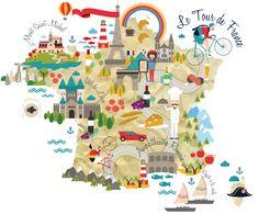 De belles cartes de France