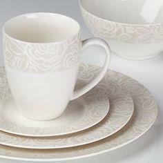 Bowden Gorham Dinnerware   Love flowers? You'll love Gorham's Bowden dinnerware. Each piece is ...
