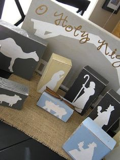 12 days of Christmas~give a nativity piece to your children each day explaining the role and importance of each- great idea!