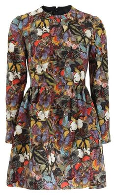 Valentino Butterfly Print Dress. Free shipping and guaranteed authenticity on Valentino Butterfly Print Dress at Tradesy. New without…