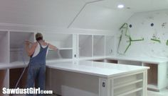 tutorials on cabinet making and painting and more