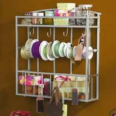I pinned this Whitehall Wall Craft Rack from the Spring Cleaning Event event at Joss & Main!