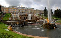 Peterhof castle, Russia