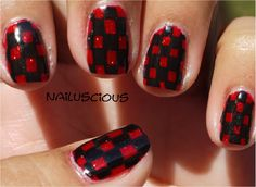 Nailuscious:  Day 1: RED