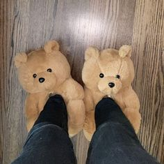 Bear Slippers, Cute Slippers, Winter Slippers, Fluffy Shoes, Looks Halloween, Fresh Shoes, Hype Shoes, Only Fashion, Shoe Game
