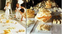 Eating Design | White Funeral Dinner