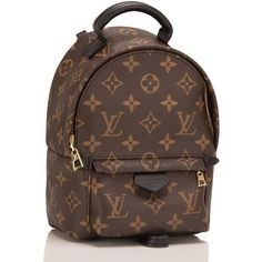 Louis Vuitton Palm Springs Backpack Mini ❤ liked on Polyvore featuring bags, backpacks, rucksack bags, louis vuitton backpack, louis vuitton knapsack, mini bag and knapsack bag