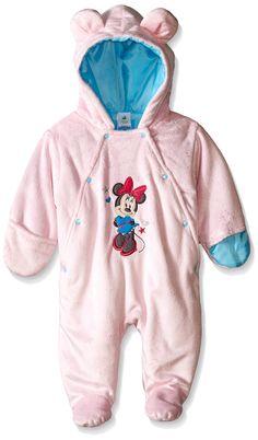 b7a35f9fcfa68 Disney Baby-Girls Newborn Minnie Mouse Pram with Ears, Pink, Months: Short  pile pram, fully padded