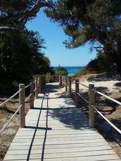 Ses Salinas, Ibiza, Spain