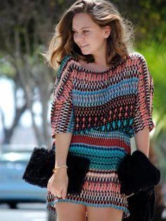 carolinagarciaipserandco Outfit   Primavera 2012. Combinar Vestido Negro Blanco, Cómo vestirse y combinar según carolinagarciaipserandco el 31-3-2012