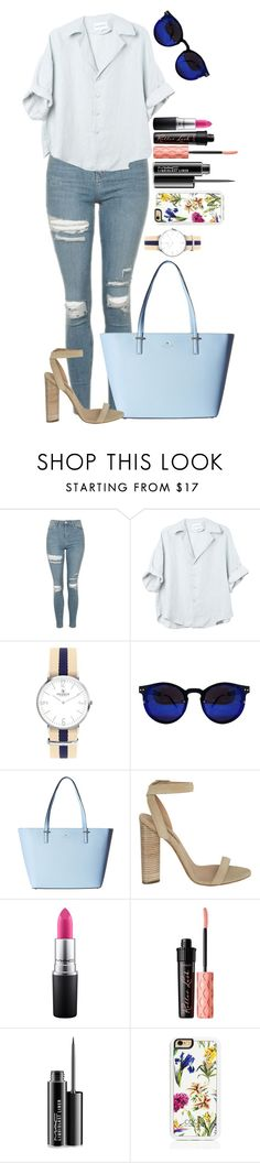 """""""Untitled #1522"""" by fabianarveloc on Polyvore featuring Topshop, Kate Spade, adidas Originals, MAC Cosmetics, Benefit and Trelise Cooper"""