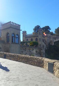 Castillo de Xàtiva, Valencia, España.