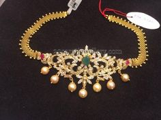 Jewellery Designs: Multi Use Bajuband 33 Grams Gold Earrings Designs, Necklace Designs, Indian Wedding Jewelry, Bridal Jewelry, Gold Jewelry Simple, India Jewelry, Jewelery, Choker Jewelry, Jewelry Patterns